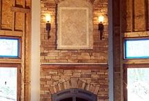 pellet stove/fireplace remolding / by Anna Elliott- Gonzales