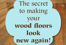A Wood Floors / Refinishing Wood Floors