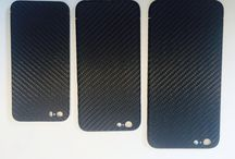 iPhone carbon fiber cover / The slimmest lighter trendiest cover for your iPhone.  Carbon fiber as you never felt it.
