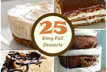 25 desserts / by Evan Cortez