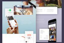 our clients page design