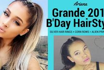 Ariana Grande HairStyles / Ariana Grande HairStyles Inspiration, watch our YouTube video for Ariana's latest birthday hairstyle.