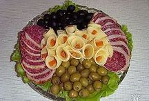 Oslava, jídlo