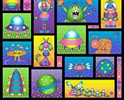 Welcome to My World / Fun children's fabric from RJR Fabrics. Available at Material Mart & materialmart.com  <http://www.materialmart.com/module/search_content.htm?form_version=2&showSearchResults=1&search_keyword=welcome&btnSearchSubmit=Search> / by Material Mart