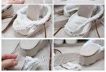 обувь DIY