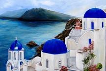 Santorini / zografiki
