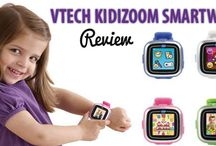 Kidizoom Smartwatch / The Smartest Watch For Kids More than just a watch, VTech's Kidizoom Smartwatch lets young photographers take photos and videos. Plus, play mini learning games and tell time for learning fun on the go!