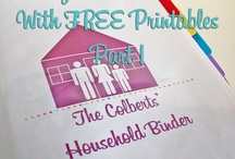 Home Management / Find great tips to keep your house running smoothly.  Create a free home management binder with these free printables.  We pin cleaning tips, organization ideas & hacks, budgeting printables & ideas, plus tips on how to set up a cleaning schedule that works for YOU! / by Midwest Modern Momma