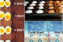 Perfect hard boiled eggs / Cooking tips