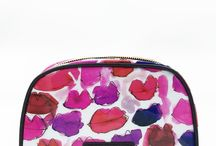 KAHRI COSMETIC BAGS / Cosmetic bags with original artwork by KahriAnne Kerr