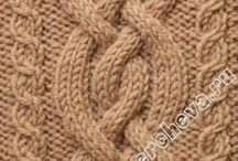 Cable stitch pattern
