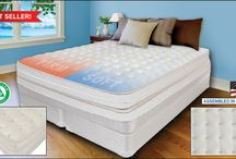 Luxury Support Air Beds / Dual Adjustable Digital Air Beds