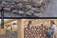 BUILDING WITH WOOD/CORDS