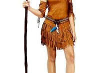 INDIAN COSTUME / by Katie Larson
