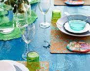 한식 테이블