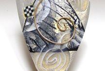 Jewelry mixed polymer metal ideas / by Mindi Scott