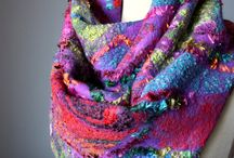 Felting and other fibres