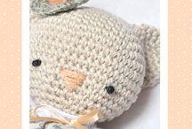 игрушки / изготовление - вязание, шитье игрушек;идеи для вдохновения