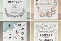 Wedding - Invitations / Invitaciones de Boda