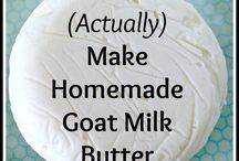 KF: Dairy / Non-cheese dairy products. Sour cream. Butter. Etc.