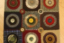 Penny rugs / Penny rugs to make
