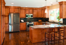 Bretwood Maple / Pictures of Kitchen Kompact's Flat Panel Cabinet Style, Bretwood Maple