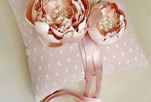 gyűrű párna/ ring pillow