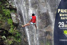 Panshet Waterfall Rappelling
