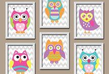 Owl bedroom!!!!