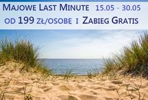 Majowe Last Minute/ May Last Minute / Special offer Last Minute and super prices in May