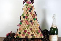 Árboles de Navidad DIY / Árboles de Navidad hechos en casa, originales y sencillos.