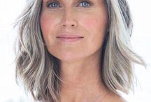 Grey Hair for Healthy Older Women