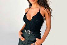 Outfits con prendas negras / Tips que te permitirán sacarle el mayor provecho a todas las prendas negras que tienes en tu armario.