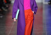 Colour blocking fashion