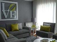 grey couches deco