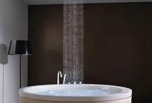 bathrooms-hot tubs / by Menia Fok