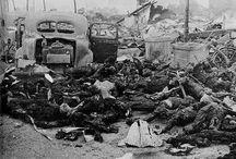WW II Destruction, Sorrow, Disgusting & insanity