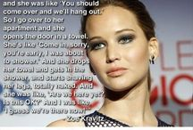 Jennifer Lawrence rocks... / Just cuz I love her so much she deserves her own pin page for me.