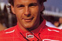 SCUDERIA FERRARI DRIVER GERHARD BERGER / Scuderia Ferrari 1987~1989・1993~1995