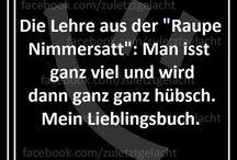 Sprüche / Make me laugh