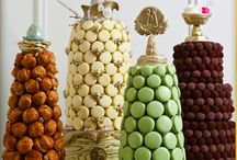 Party Edibles - Wedding Food Displays / Party edibles and wedding edibles that include sweet bars, raw food bars, fruit and vegetable bars and all types of food displays for special occasions and weddings. / by Blissful Gatherings - Wedding Favors - Wedding Accessories