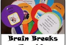 Brain Breaks / Resources for teachers to use when providing brain breaks for their students.
