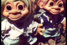Dam & Russ trolls / We're crazy about trolls!