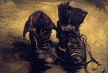 shoes - photography and painting