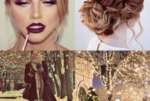 Inspired / A bunch of photos that I adore from pintrest put into little collages as mostly fashion inspiration