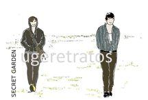 Secret garden / Ha Ji Won como Gil Ra Im ♥ Hyun Bin como Kim Joo Won