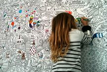 Art Classroom / Inspiration for the Public School Art Teacher / by Kelly Porter-Santamaria