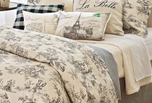 Bedroom Inspiration / I spend a lot of time in my room and want it to be beautiful and calming. I am in love with all that is French Country and Rustic! Barnboard, chipped paint, rusty metals and so much more..,