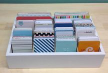 Journaling Card Organizers / Wonderful organizers to store all of your 3x4 and 4x6 journaling cards!