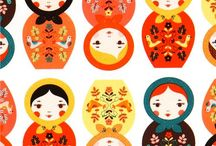 Kokeshi dolls / by Karen Evans
